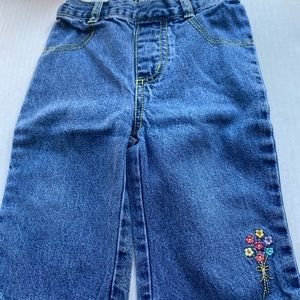 Jeans 3 pair 12 month little girls jeans
